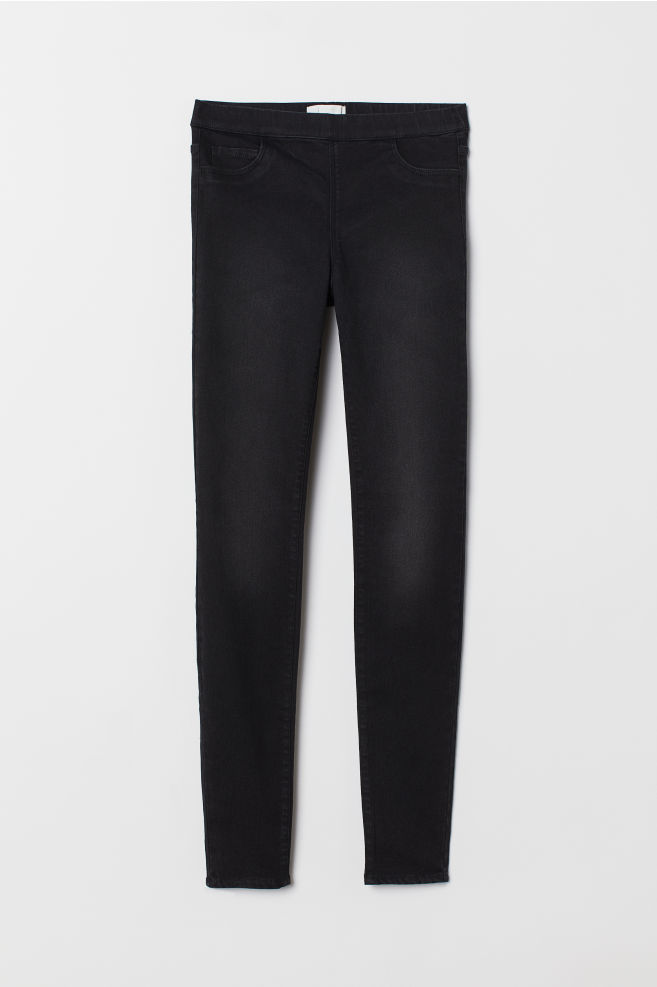 5257e4d1d54b5f Superstretch treggings - Dark grey - Ladies | H&M ...