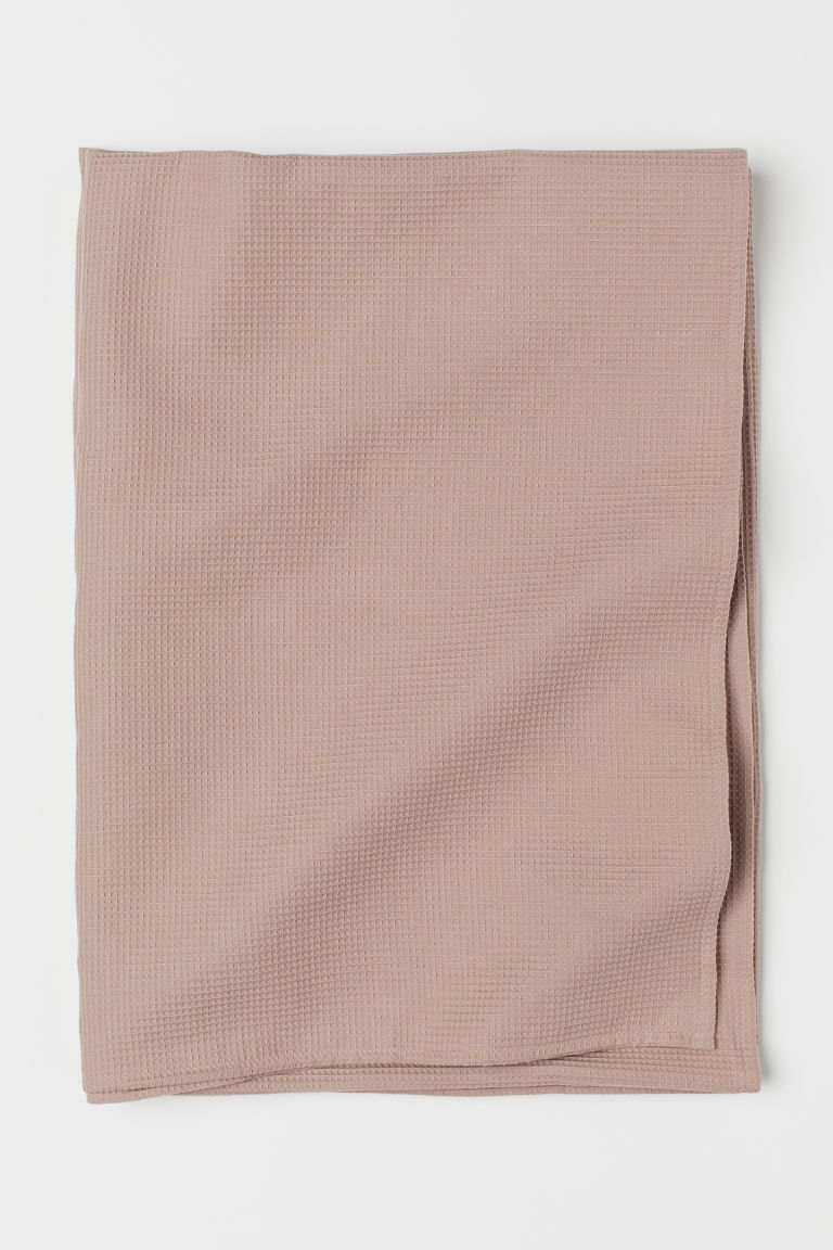 Nappe gaufrée - Rose poudré - Home All | H&M CA