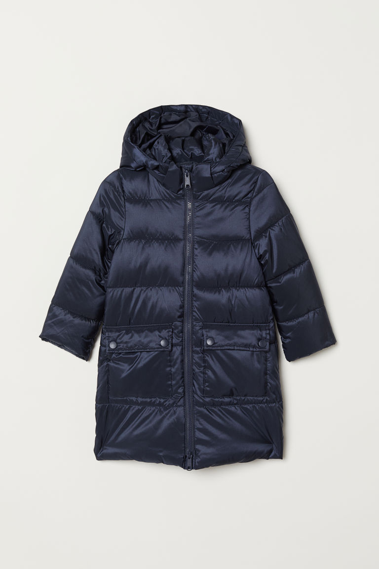 Padded jacket - Dark blue - Kids | H&M