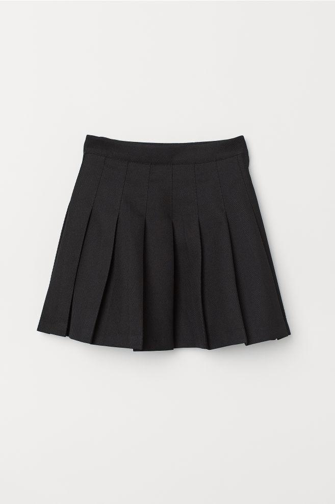 975a4e463e96 Plisovaná sukňa - čierna -