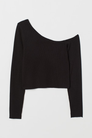 One-Shoulder-Pullover
