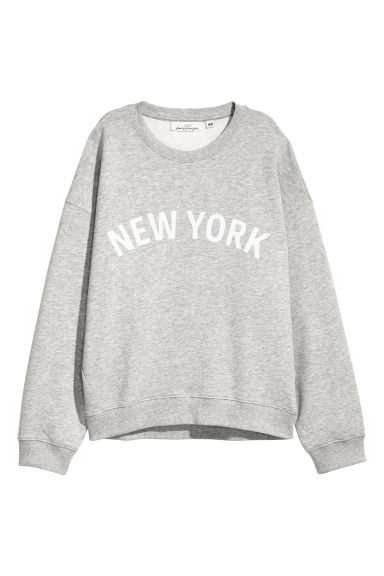 Sweatshirt - Grey marl - Ladies | H&M IE