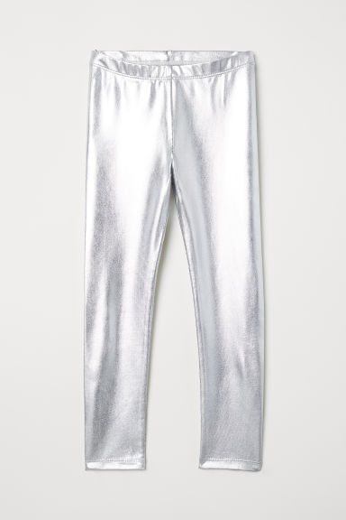 Leggings - Silver-coloured - Kids | H&M