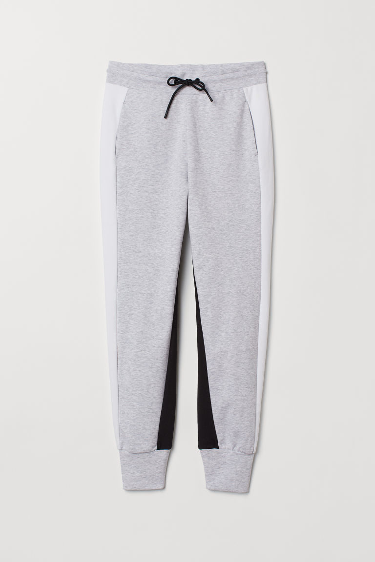 Sports trousers - Light grey marl - Ladies | H&M IE