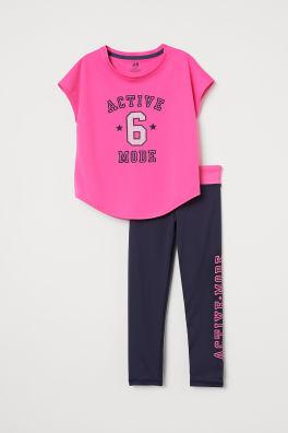 42c63e5c1 Sportstøy til jente – str 134-170 – shop online | H&M NO