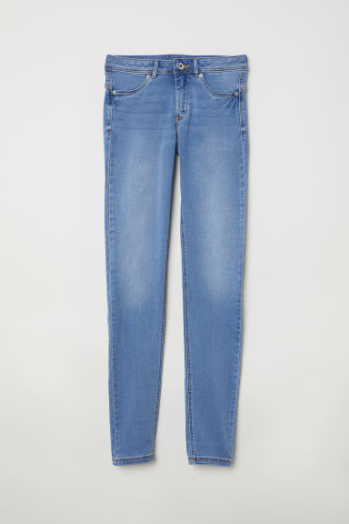 Super Soft Low Jeggings - Light denim blue - Ladies | H&M