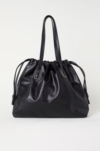 Shopper con cerniere - Nero - DONNA | H&M IT