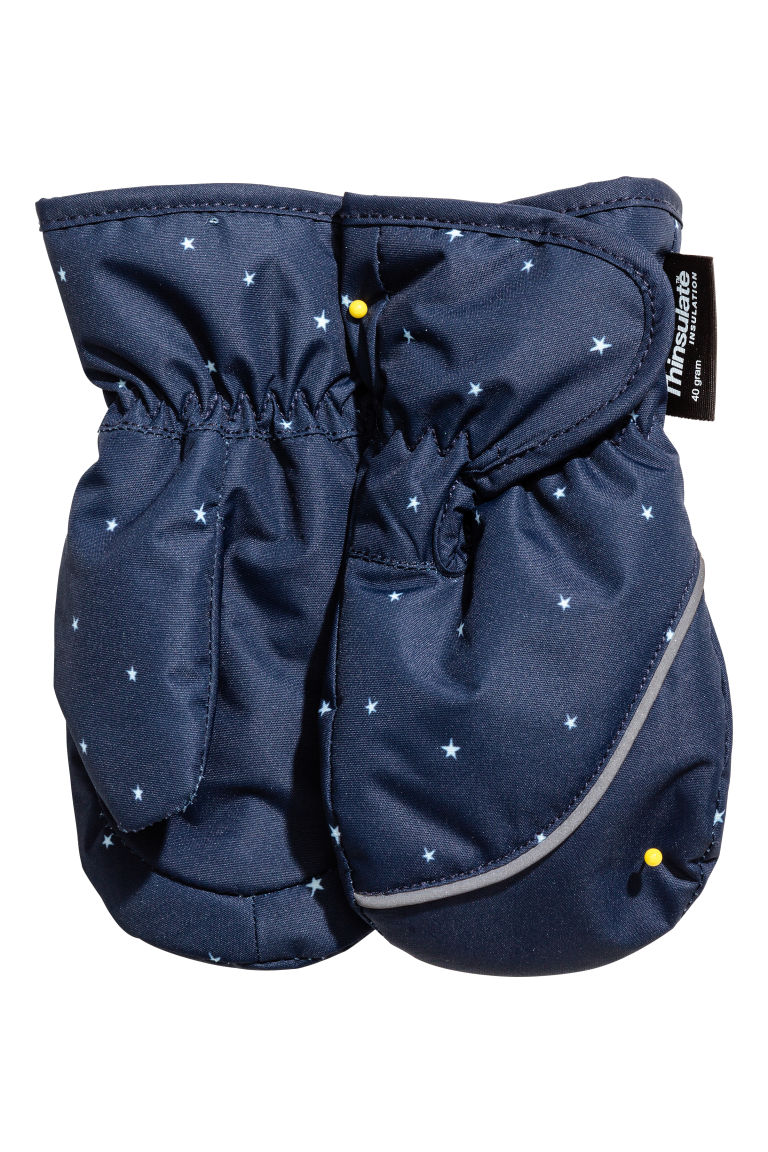 Ski mittens - Dark blue - Kids | H&M