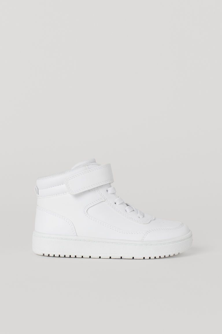 Hi-top trainers - White -  | H&M CN