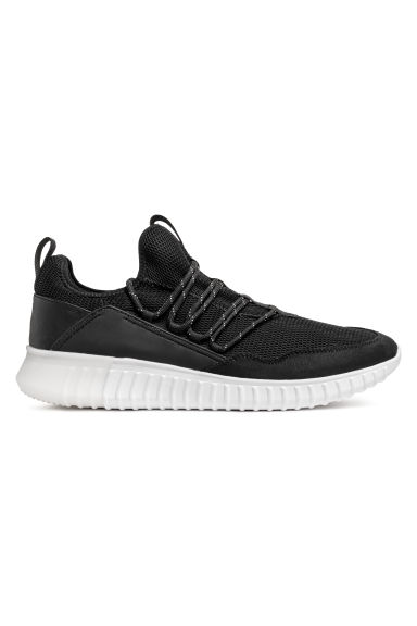 Mesh trainers - Black - Men | H&M