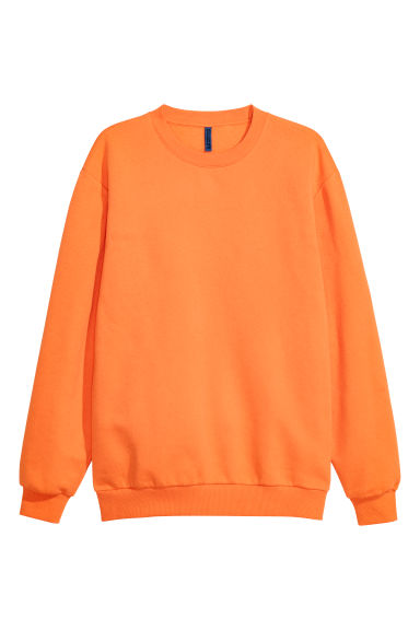 Oversized sweatshirt - Orange - Men | H&M GB