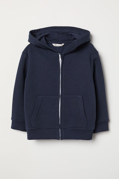 Hooded jacket - Dark blue - Kids | H&M