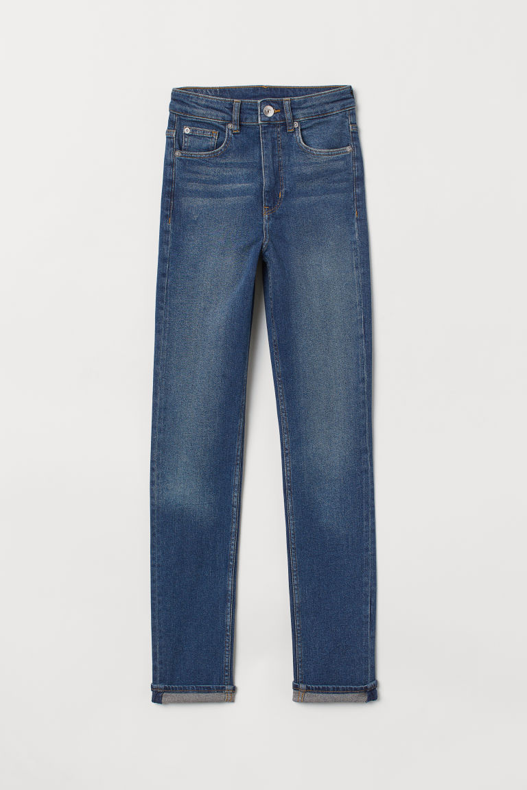 Slim High Jeans - Azul denim -  | H&M ES