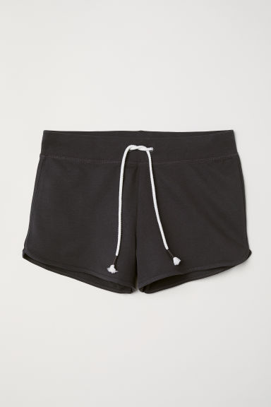 Sweatshirt shorts - Dark grey - Ladies | H&M CN