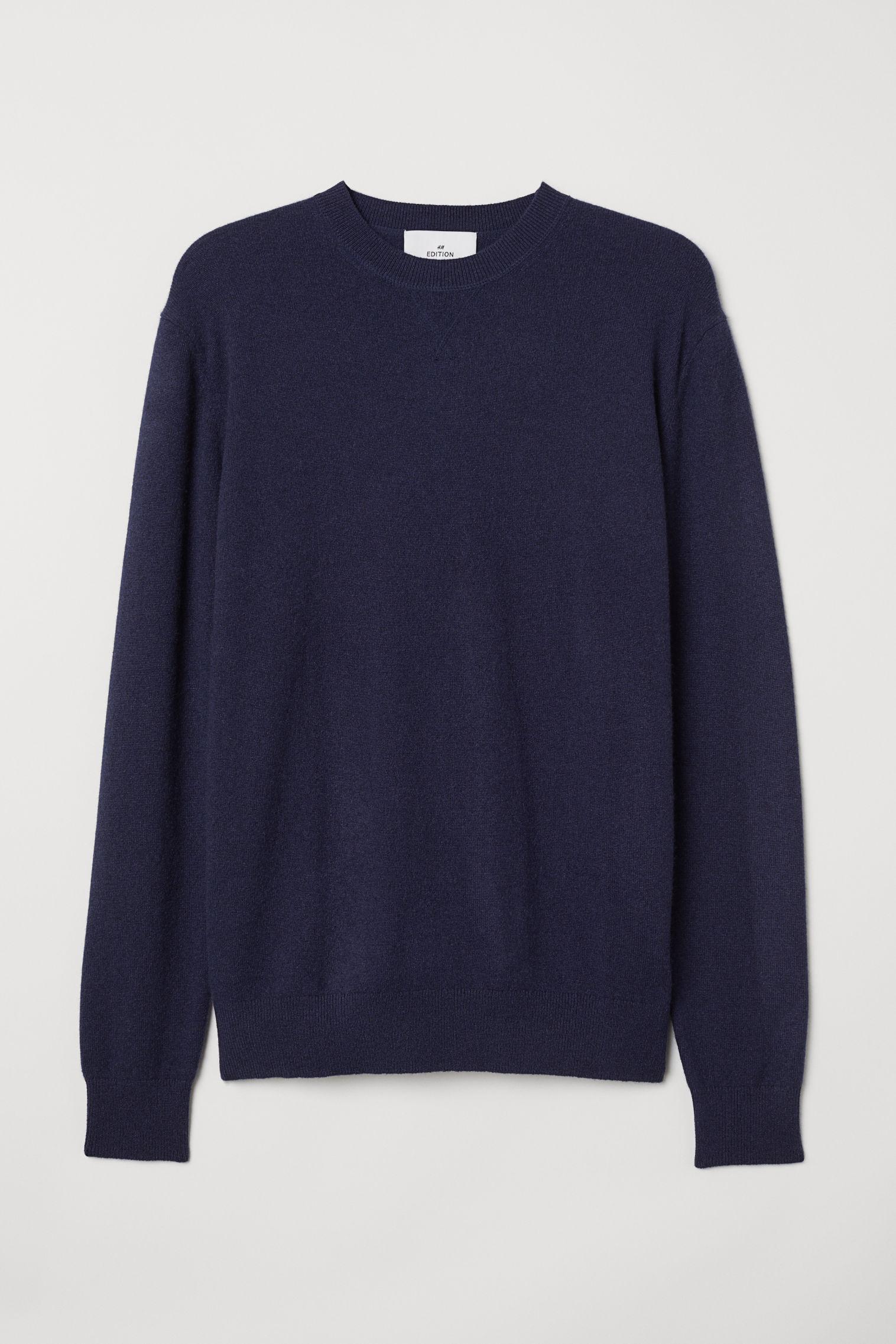 73a7835ae Cashmere Sweater - Light gray - Men