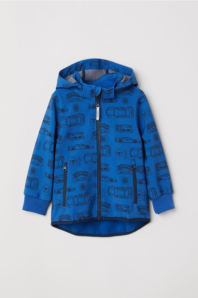 136582a292 Softshell dzseki - Kék/autók - GYEREK | H&M ...