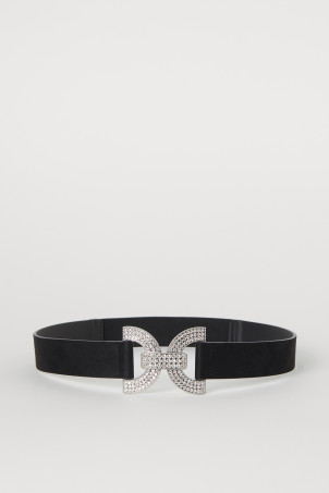 Waist belt with sparkly stones