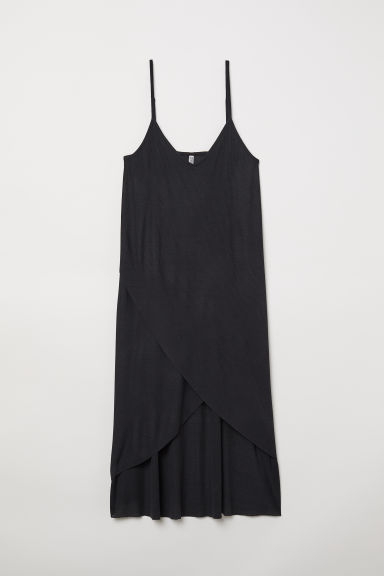 Abito a coste - Nero - DONNA | H&M IT
