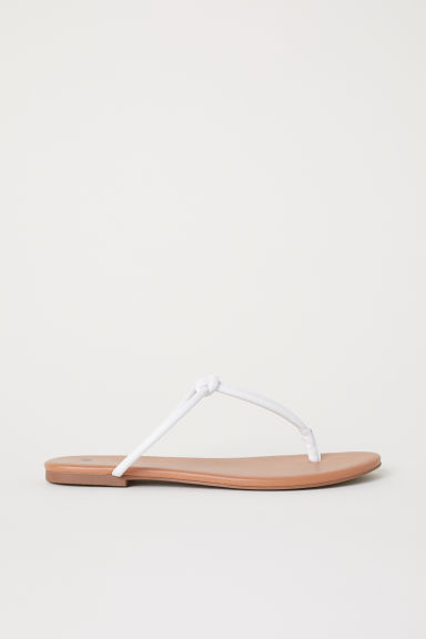 Sandals - White - Ladies | H&M