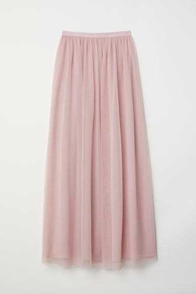 Long tulle skirt - Vintage pink - Ladies | H&M