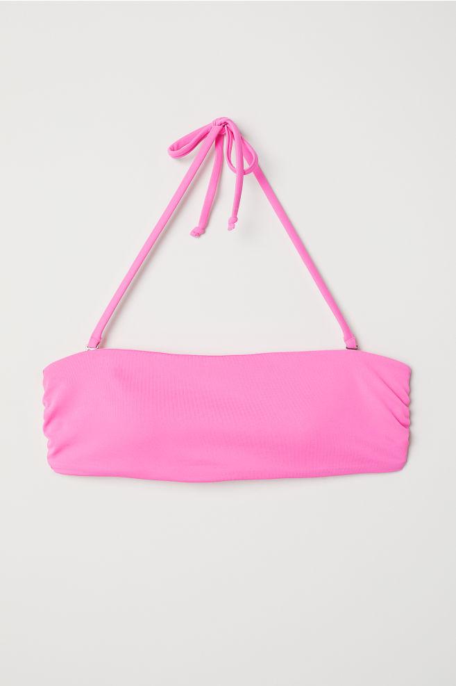 Haut de bikini bandeau - Rose fluo - FEMME  8e60df2a1ce