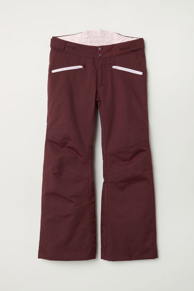 Padded outdoor trousers - Dark red - Kids | H&M