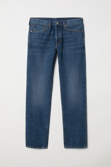 Straight Jeans - Denim blue - Men | H&M