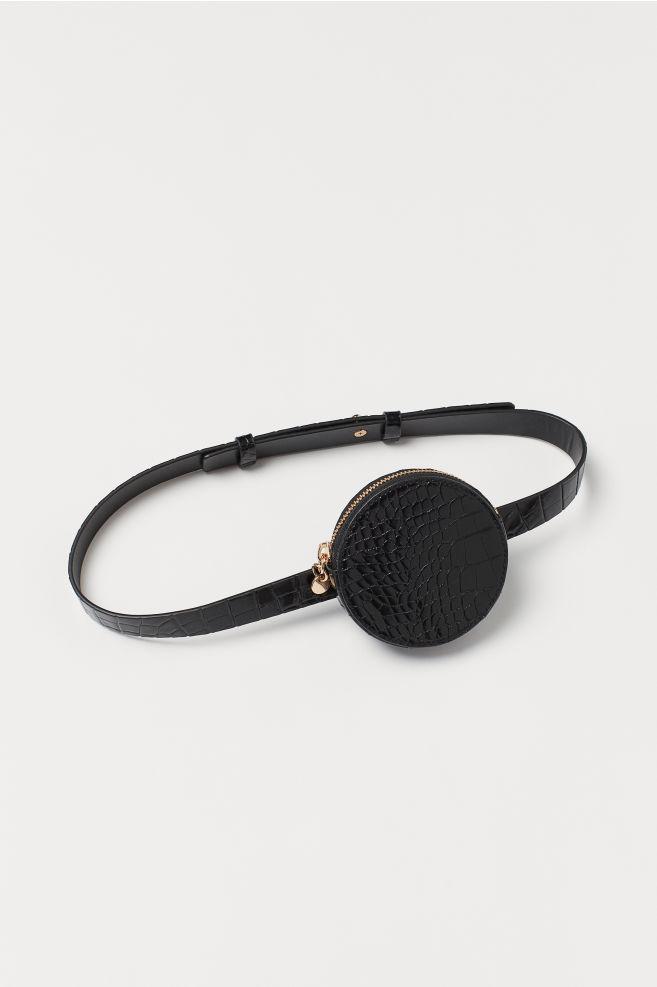 07a4cb4168a76 Sac ceinture - Noir - FEMME | H&M ...