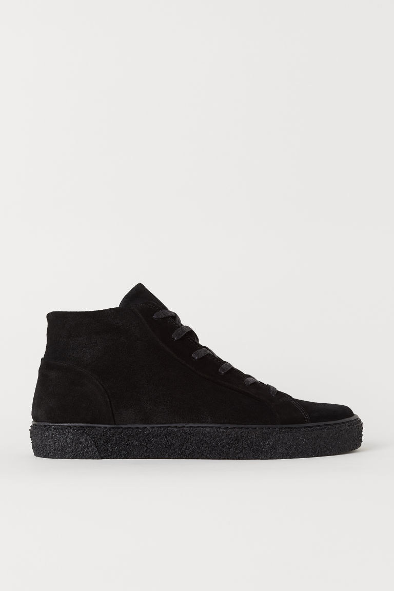 Sneakers alte - Nero - UOMO | H&M IT