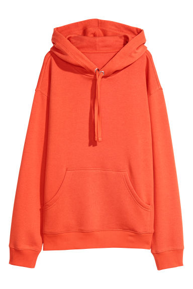 Hooded top - Orange - Ladies | H&M