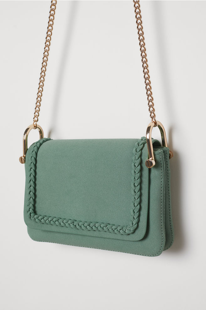 d1cc9e98aaf3dc ... Handtasche - Grün - Ladies | H&M ...