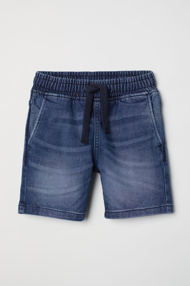 Pull-on short - Denimblauw -  | H&M BE