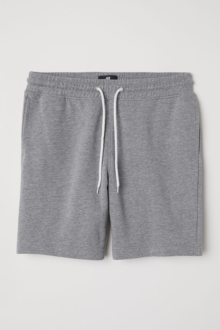 Sweatshirt shorts - Grey marl -  | H&M
