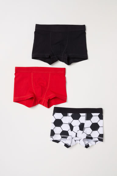 3-pack boxer shorts - Black - Kids | H&M CN