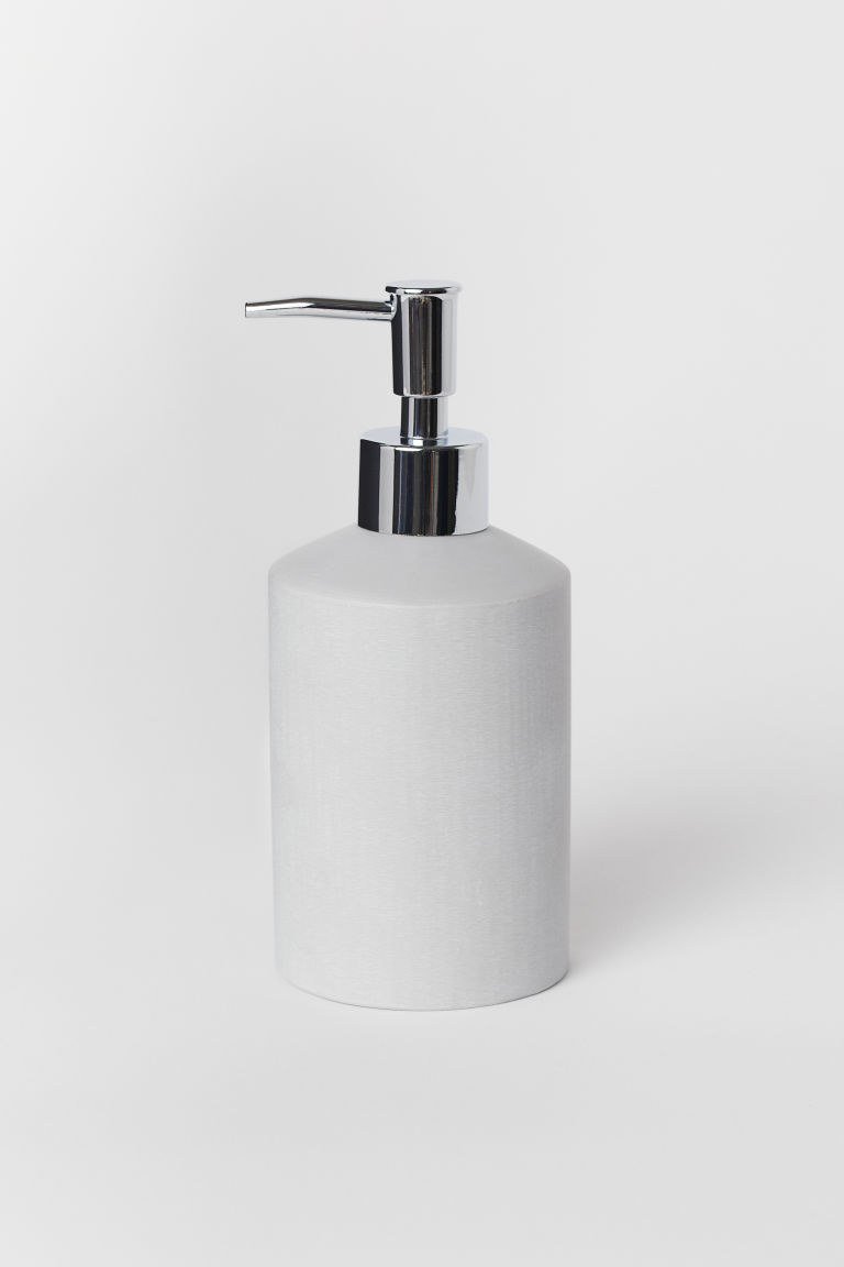 Soap dispenser - Light grey - Home All | H&M GB