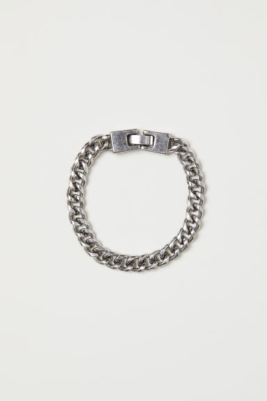 Metal bracelet - Silver-coloured - Men | H&M CN