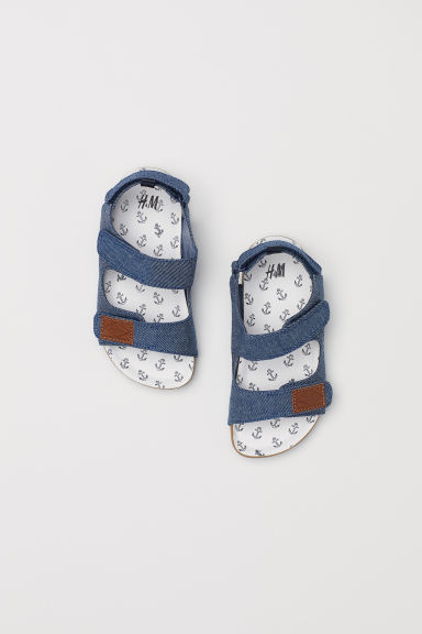 Sandali - Blu denim - BAMBINO | H&M IT