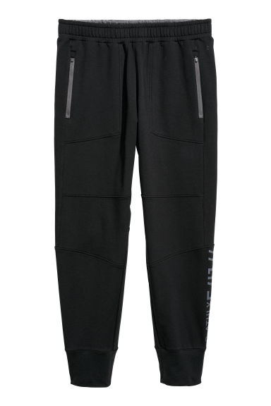 Pantalon training - Noir - HOMME | H&M BE