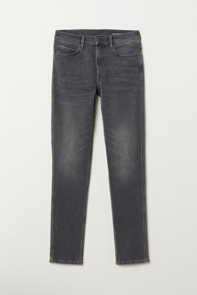 Tech Stretch Slim Jeans - Dark denim grey - Men | H&M CN