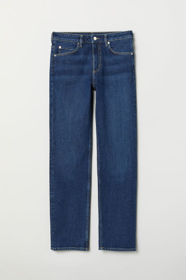 Straight Jeans - Denim blue - Ladies | H&M