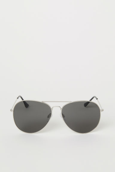 Sunglasses - Silver-coloured/Black - Men | H&M CN