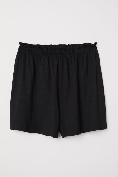 Modal-blend shorts - Black - Ladies | H&M CN