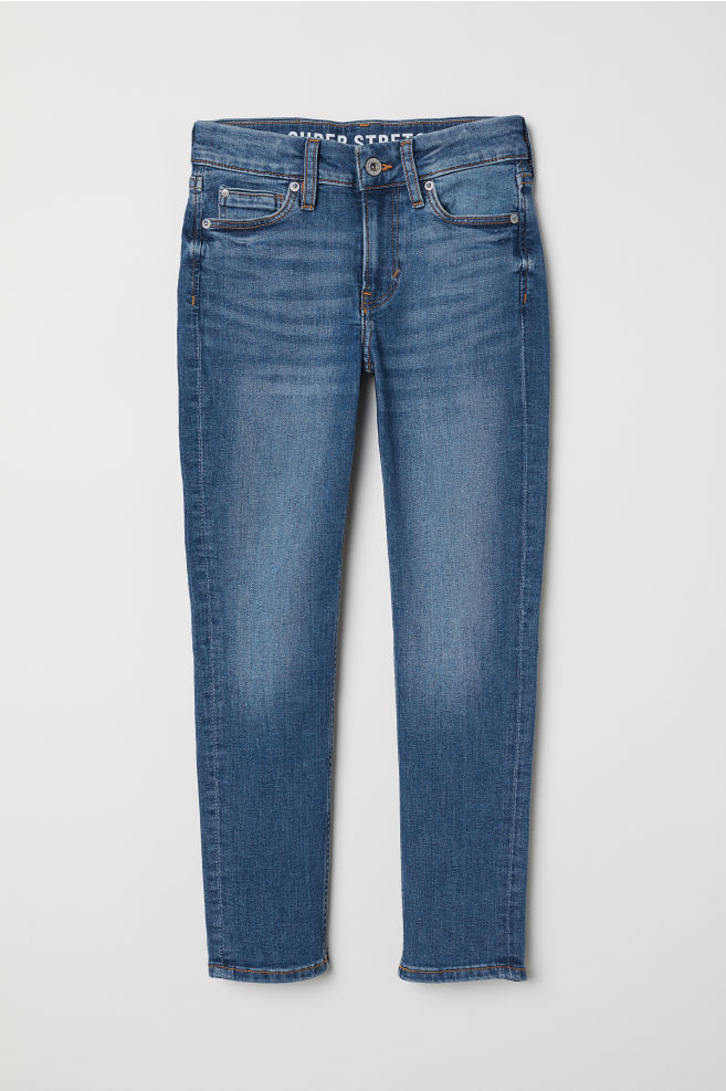 192c19bd8c Superstretch Skinny Fit Jeans - Denim blue - Kids
