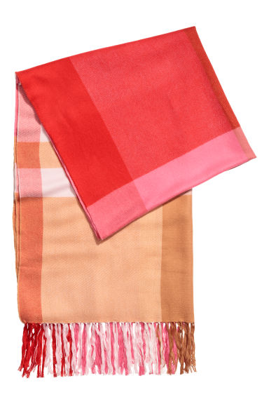 Scarf - Pink - Ladies | H&M CN