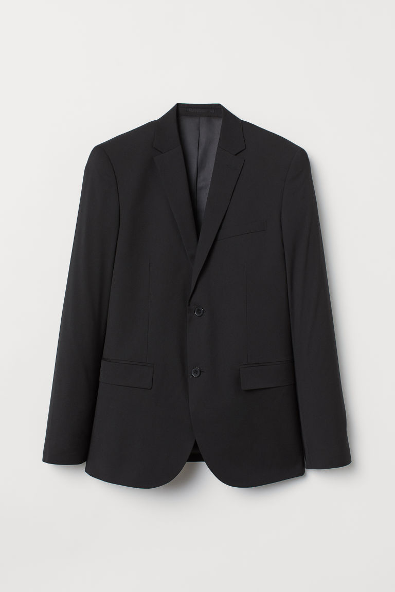 Jacket Regular fit - Black - Men | H&M CN