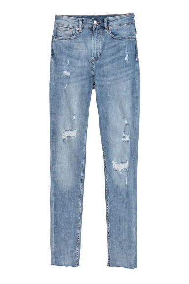Super Skinny High Jeans - Denimblauw -  | H&M BE
