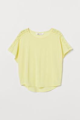 a7aa66c43c Lányfelsők és -pólók – vásárolj online | H&M HU