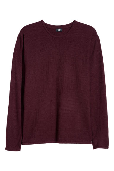 Trui - Bordeauxrood -  | H&M BE