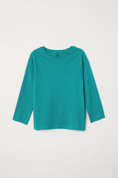 Jersey top - Green - Kids | H&M