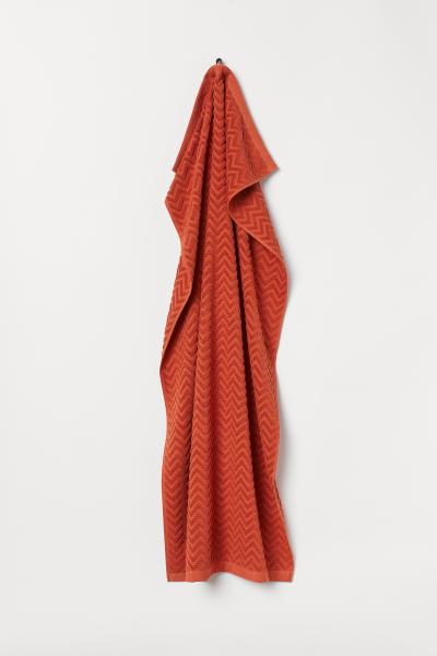 H&M - Jacquard-patterned bath towel - 1